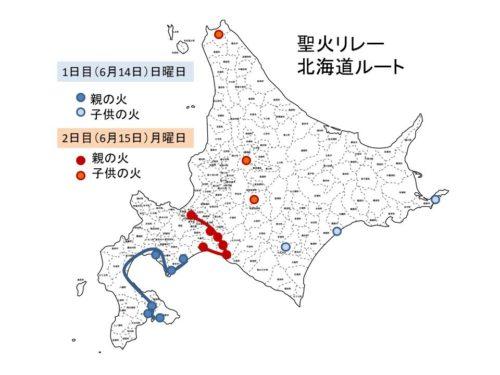 北海道聖火リレー
