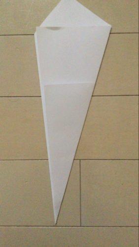 ハロウィンの帽子の作り方:型紙2