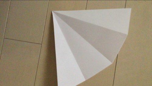 ハロウィンの帽子の作り方:型紙完成