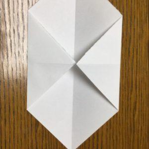 折り紙でネズミの立体的な作り方・折り方 ねずみを折り紙で立体的に 3