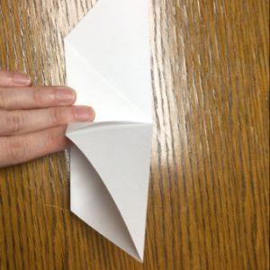 折り紙でネズミの立体的な作り方・折り方 ねずみを折り紙で立体的に 5