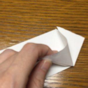 折り紙でネズミの立体的な作り方・折り方 ねずみを折り紙で立体的に 8