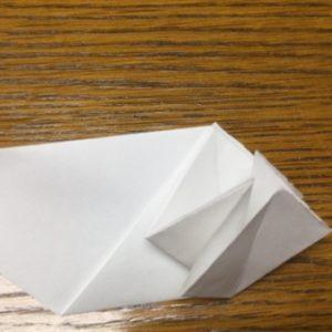 折り紙でネズミの立体的な作り方・折り方 ねずみを折り紙で立体的に 10