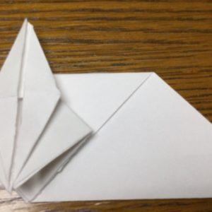 折り紙でネズミの立体的な作り方・折り方 ねずみを折り紙で立体的に 14