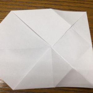 折り紙でネズミの立体的な作り方・折り方 ねずみを折り紙で立体的に 16