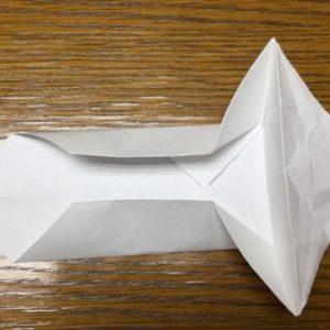 折り紙でネズミの立体的な作り方・折り方 ねずみを折り紙で立体的に 19