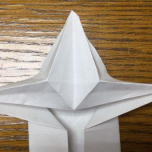 折り紙 ネズミ 立体 折り方