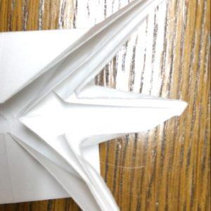 折り紙でネズミの立体的な作り方・折り方 ねずみを折り紙で立体的に 22