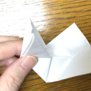 折り紙でネズミの立体的な作り方・折り方 ねずみを折り紙で立体的に 30