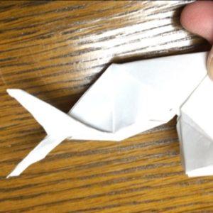 折り紙でネズミの立体的な作り方・折り方 ねずみを折り紙で立体的に 36