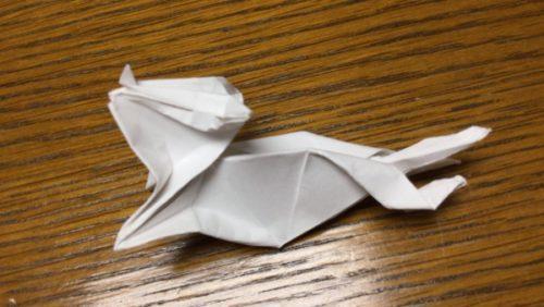 ネズミ 折り紙 立体 作り方