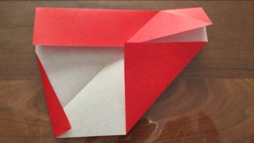 折り紙 サンタ さん の 作り方