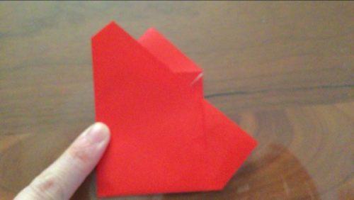折り紙で作るサンタクロースの作り方