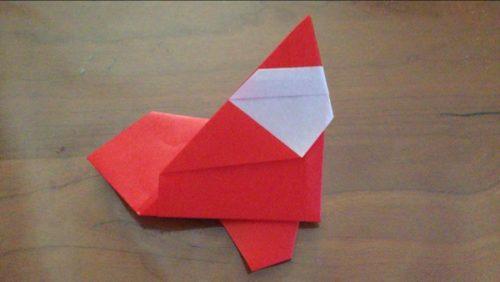 折り紙 サンタ かわいい