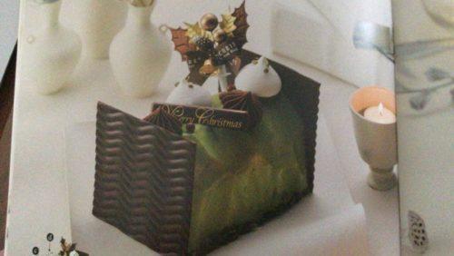 ルビーチョコ クリスマスケーキ ルタオ