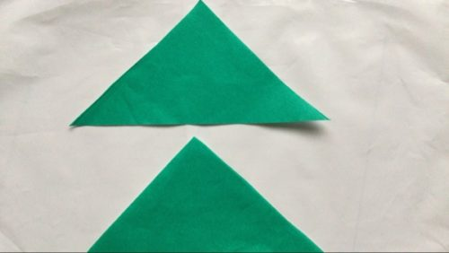 折り紙 お正月 飾り門松 作り方 工作