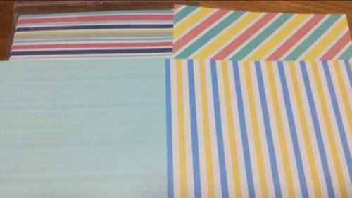ダイソー 折り紙 両面 デザイン