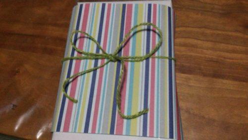 ラッピング透明袋 折り紙