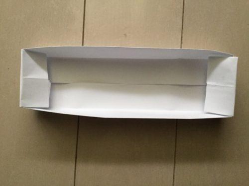 折り紙 箱 長方形 完成