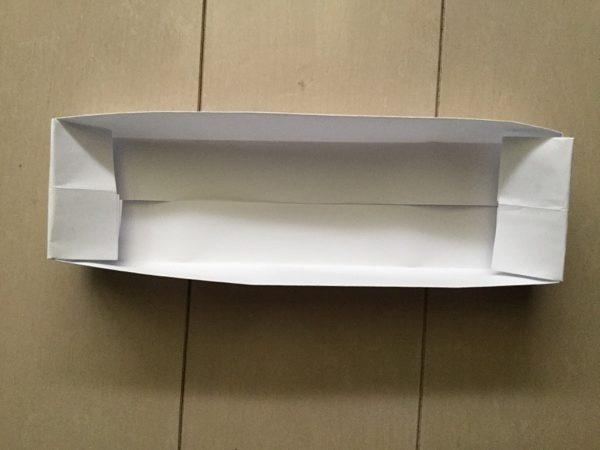 折り紙 箱 a4 長方形 完成