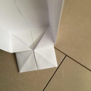 折り紙 箱 作り方 縦長