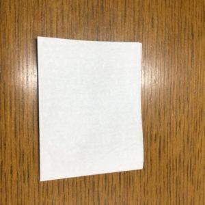 折り紙 ハートの作り方 長方形