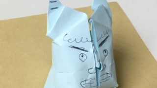 節分の折り紙 立体的な鬼の作り方【簡単・かわいい】 6