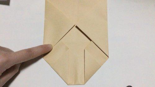 折り紙 袋 鬼 折り方