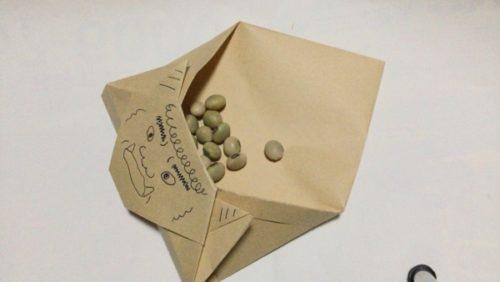 節分 豆入れ 手作り 折り紙 簡単 作り方
