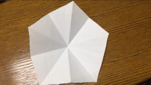 桃の花 折り紙 折り方 立体