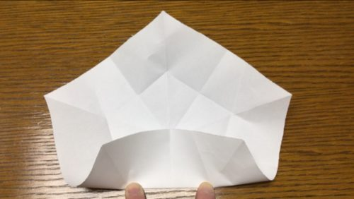 折り紙 花 立体 桃