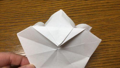 折り紙 ひな祭り 桃 の 花 折り方 簡単