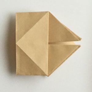ひな祭り 折り紙 入れ物 箱 立体