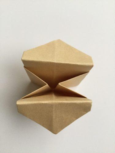 簡単紙箱作り方折り方