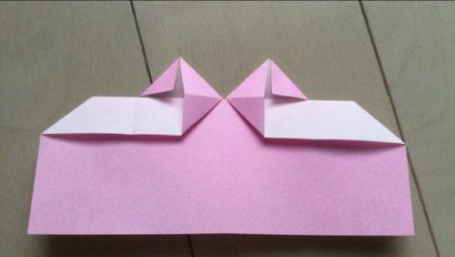 ハート 手紙 紙 正方形