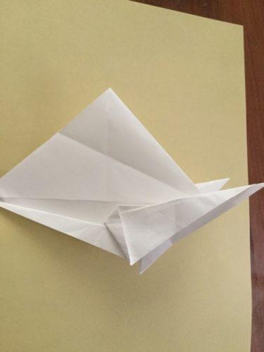 兜 折り紙 かぶれる サイズ 作り方